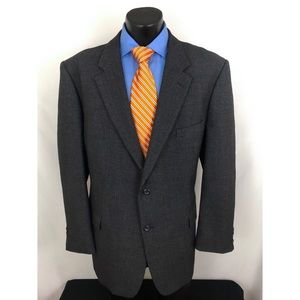 Pronto Uomo Sport Coat Barley Corn Blue 46L